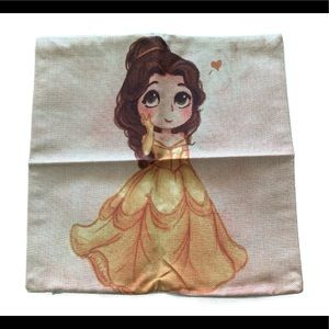Other - NIP Beauty And The Beast Pillow Case